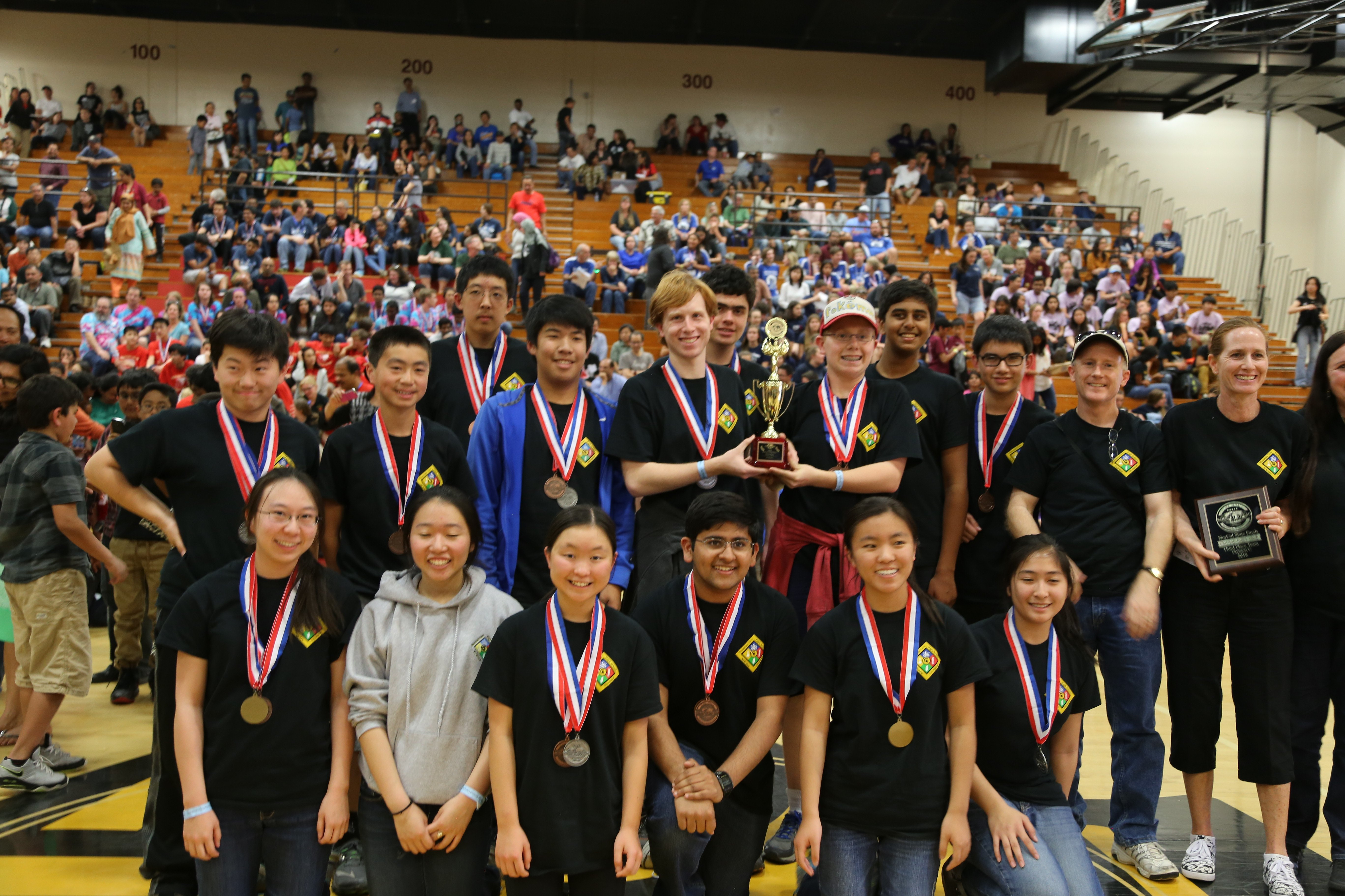 MVHS Science Olympiad team starts off 2017 in record fashion